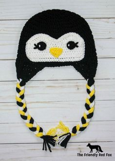 This crochet penguin hat will be a hit with pretty much everyone because who doesn't love a penguin!? They are fun and cute and make some ...