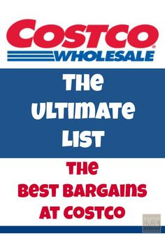 The Best Bargains At Costco Save Money On Groceries, Ways To Save Money, Money Tips, Money Saving Tips, Money Savers, Groceries Budget, Frugal Living Tips, Frugal Tips, Costco Deals