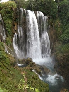 Waterfalls #honduras- I've been here! It's beautiful!