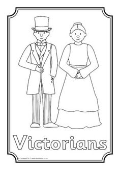 The Victorians editable topic book covers (SB9855