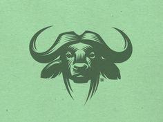 Illustration of the buffalo  by Gal Yuri