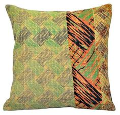 Buy XL decorative throw pillows for couch ethnic tribal bedroom pillows on sale. These Indian style decorative dining chair cushions are so beautiful and one of a kind.