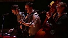 Mumford & Sons, The Avett Brothers and Bob Dylan Live at 2011 Grammys