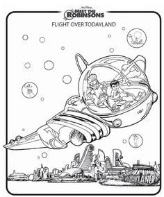 coloring page Meet the Robinsons - Meet the Robinsons