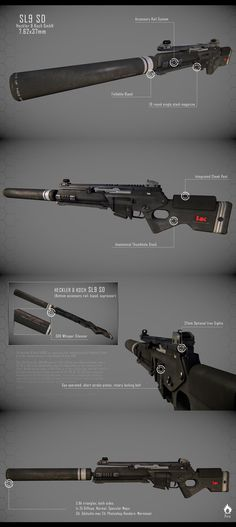 HK SL8 Sniper Rifle by Pirosan on DeviantArt
