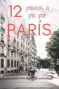 rutas a pie por paris