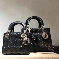 Lady Dior Mini Supple Bag