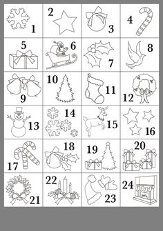 Christmas Colors, Kids Christmas, Christmas Crafts, Preschool Art Activities, Christmas Activities, Advent Calendars For Kids, Preschool Coloring Pages, Drawing For Kids, Drawing Art