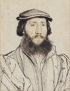 Hans Holbein the Younger (1497/8-1543) - An unidentified man