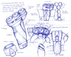 Sketchbook by Matt SEIBERT, via Behance