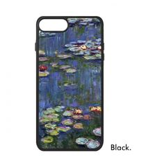 Water lily Claude Monet Famous Oil Schools of  impressionism Panintings Oils iPhone 7/7 Plus Cases iPhonecase  iPhone Cover #iPhone7 #Paninting #iPhone7case #Oil #Phonecase #Waterlily #Phonecover #ClaudeMonet #Backcover #impressionism #Hardplastic #BackCase #PCFrame #AntiKnock #PhoneAccessories