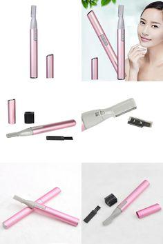[Visit to Buy] Women Ladies Body Shaver Razor Epilator Mini Portable Electric Eyebrow Trimmer Hair Remover HB88 #Advertisement