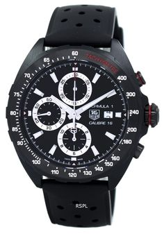 57633e39ca3 TAG Heuer Formula 1 Chronograph Tachymeter Automatic CAZ2011.FT8024 Men s  Watch Tag Heuer Formula