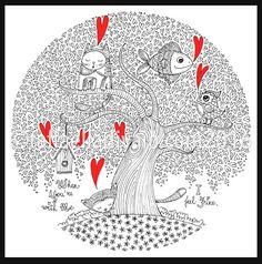 raffaelladivaio*illustrazione e creatività: WHEN YOU'RE WITH ME