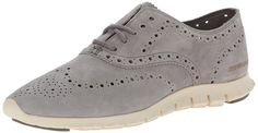 Cole Haan Women's Zerogrand Wing-Tip Oxford | Oxford Shoes-----------Color Available: Ironstone, Ironstone Suede, Black, Blazer Blue Suede, Gold/Metallic, Marble/Ivory, Specchio, Beet Red Suede/Ivory, Argento, Amoroso Suede, Fatigue Suede, Gold Metallic, Black Patent ------------Leather Rubber sole-------- Cushioned with Grand.OS technology----------- Beautiful,Elegant,Classic Oxford Shoes suitable for Work, Casual and Party Wear for Summer/Spring 2016-----------