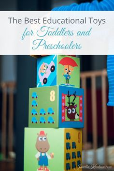 The best educational toys for toddlers and preschoolers. Of course, nothing can top playing outside!  {pacifickid.net}