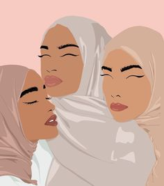 Beauty Illustration, Graphic Design Illustration, Digital Illustration, Friends Illustration, Beautiful Girl Drawing, Beautiful Drawings, Black Girl Art, Art Girl, Mode Turban