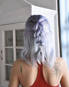 🍧😘 #💜 #🦄 Hair colors @arcticfoxhaircolor  #aquamarine #purplerain  @vpfashion CUPON jessvp.  Video of this mix in my Youtube channel Mermaid Incognito.  Vendo tintes a pedido! 📩  #pastelhair #arcticfoxhaircolor #mermaidhair  #bluepastelhair  #paraguay #selfie  #cabellodesirena #fantasyhair #galaxyhair #coloredhair #crazycolorhair #ombrehair #unicorntribe  #bluehair #arcticfoxhair #nikond90 #hairdo  #mermaidians #funcolorhair #magicalhair #cabellofantasia #cabelloazul #purplehair…