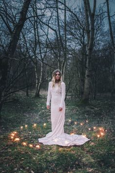Gorgeous Gibson // Bespoke Meadow Bohemian Wedding Dress