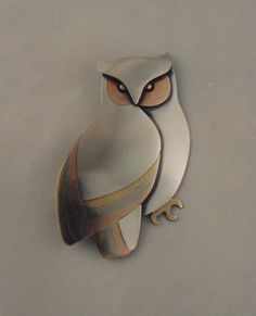 Owl by Ahlene Welsh http://www.ahlenewelsh.com/jewelry/owl.jpg