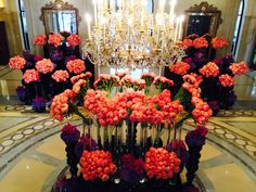 Fleur International assembles the most celebrated and renowned leaders in the floral & event industry to teach master classes to industry pros. Jeff Leatham, Hotel Flowers, Wedding Decorations, Table Decorations, Four Seasons, Peonies, Floral Arrangements, Centerpieces, Creations