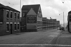 Hanley: The Bert Bentley Collection on Stoke Sentinel. Johnson Bros. (Hanley) Ltd. Eastwood Pottery, Lichfield Street. Now Emma Bridgewater.