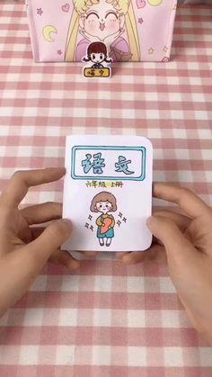 Origami Gifts, Paper Crafts Origami, Diy Paper, Diy For Kids, Crafts For Kids, Disney Princess Gifts, Kawaii Diy, Easy Diy Crafts, Diy Doll