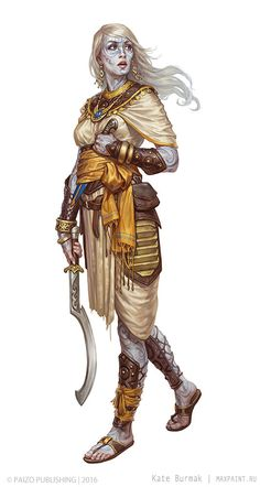 ArtStation - Characters for Pathfinder, Ekaterina Burmak