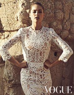 Doutzen Kroes for Vogue Netherlands September 2013