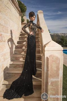 Find More Wedding Dresses Information about Sexy black lace high neck sequins luxury with long sleeves see through floor length open back wedding dress 2014 NT 516,High Quality Wedding Dresses from Suzhou Amy wedding dress co., LTD on Aliexpress.com
