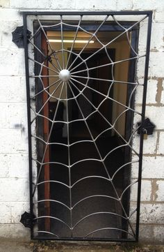 Spider Web Gate - Art Of Metal by elisa