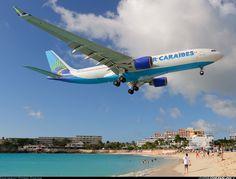 Airbus A330-223 aircraft picture.  Philipsburg / St. Maarten - Princess Juliana (SXM / TNCM) St. Maarten, December 12, 2013