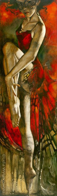 Lidia Wylangowska ~ Figurative painter   Tutt'Art@   Pittura * Scultura * Poesia * Musica  