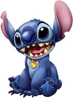 Cartoon Characters: Lilo y Stitch Art Disney, Disney Kunst, Disney Movies, Disney Pixar, Lelo And Stitch, Lilo Y Stitch, Cute Stitch, 626 Stitch, Disney Drawings