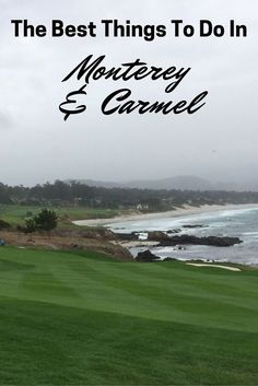 When your coastal California road trip stops in Monterey and Carmel, California, here's what to do: A guide of things to do in Monterey and carmel. The sights to see, places to stay, where to eat and what to do. The best of the Monterey region. Carmel California, California Vacation, Central California, California Dreamin', Monterey California, Monterey Bay, Northern California, Central Coast, San Diego