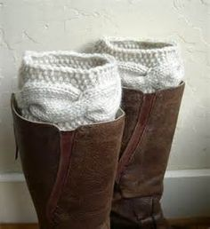 Sweater boot socks