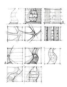 Ideas Drawing Architecture Conceptual For 2019 Conceptual Sketches, Drawing Sketches, Sketchbook Drawings, Concept Architecture, Architecture Design, Computer Architecture, Roman Architecture, Drawing Architecture, Parti Diagram