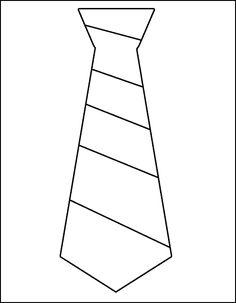 Plantillas de corbatas imprimibles para bodas Pinterest