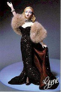 1995 gene dolls  | Gene Marshall Sparkling Evening Gown Fashion Doll Retired ...