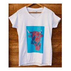 Patterned Heren's Cow - V Neck T-shirt by EternalJellyfishShop on Etsy Jellyfish, V Neck T Shirt, Cow, Trending Outfits, Pattern, Shirts, Etsy, Clothes, Women
