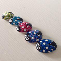 Weiteres - Set von 5 Marienkäfer Glückssteine - ein Designerstück von CreateAndCherish bei DaWanda