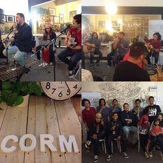 #Repost @ss_creatives  Recap: @ImranAjmain with @taufiqbani @UcopSha @hairudin_asmuni & @elhamsyah_ from @ClassmatesBand during #SetulusKasihTour at @cormisme in Jasin Melaka.  #imranajmain #classmatesband #sukasucrecreatives