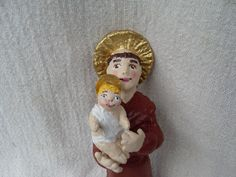 Santo Antônio com o Menino Jesus separado.