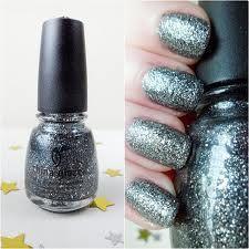 sparkly nails-they used china glaze!