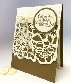 Detailed Floral Thinlits by Wendy from Perfectly Gorgeous Papercraft