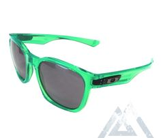New Matte Frost sunglasses Green frame classic shades