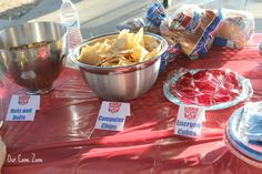 Transformers Party food More