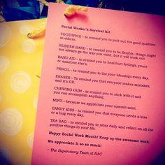 Social Work Month <3 #socialworkersurvivalkit