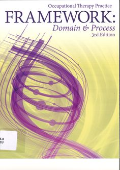 Occupational therapy practice framework: domain & process. Plaats VESA 615.8 OCCU