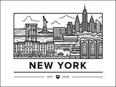 New York Office by Ryan Putnam for Dropbox | Dribbble